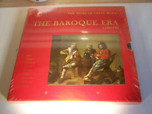 Stunning 5 LP Box Set! The Story Of Great Music!  Baroque Era!