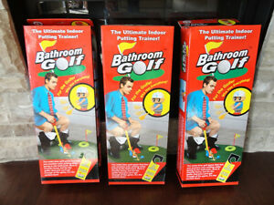 Brand New Ultimate Indoor Bathroom Golf Putting Trainer Fun Gag