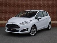 2015 15 Ford Fiesta 1.6 Zetec Powershift 5dr (White, Petrol)