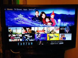 "47"" Toshiba Smart LED 3D flat screen tv"