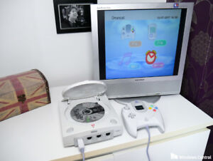 Sega Dreamcast with 5 games
