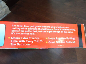 Brand New Ultimate Indoor Bathroom Golf Putting Trainer Fun Gag Kitchener / Waterloo Kitchener Area image 4