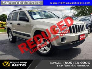 2006 Jeep Grand Cherokee Laredo | MINT | SAFETY & E-TESTED