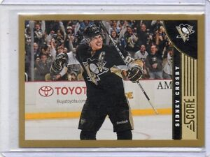 2013/14 Score Gold Parallel Set #1-650 London Ontario image 6