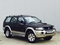 Mitsubishi Shogun Sport 2.5TD 2002MY Equippe 4wd PX SWAP FINANCE AVAILABLE