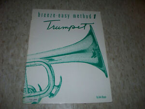 Breeze-Easy Method 1 Trumpet Book
