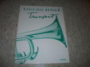 Breeze-Easy Method 1 Trumpet Book