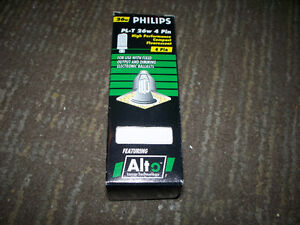 Philips PL-T 26W 4pin High Performance Compact Flourescent Bulb