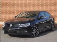 2016 16 Volkswagen Jetta 20 TDI BlueMotion Tech GT Saloon (Black, Diesel)