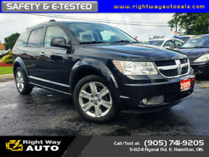 2009 Dodge Journey R/T | AWD | NAVI | DVD | SAFETY & E-TESTED