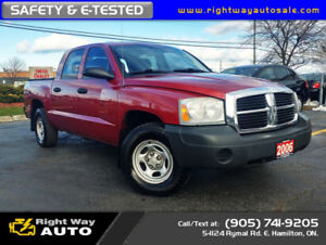 2006 Dodge Dakota ST | 4x4 | SAFETY & E-TESTED