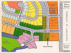 COMMERCIAL LAND FOR SALE IN LANCASTER ONTARIO