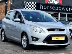 2012 Ford Grand C-Max 1.6 TDCi Titanium 5dr (7 Seats) Diesel silver Manual