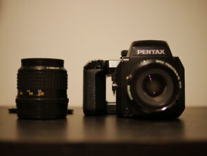 Mint Condition! Pentax 645N /w Two Lens