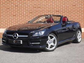2014 14 Mercedes SLK 1.8 SLK200 BlueEfficiency AMG Sport Convertible 2dr (Black)