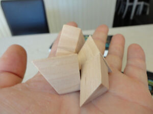 Selling Brand New Solid Wood Pyramid Mystery Puzzles - I have 24 Kitchener / Waterloo Kitchener Area image 4