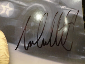 """Autographed Michael Andretti 8.5 x11"""" Colour Picture Card Kitchener / Waterloo Kitchener Area image 2"""