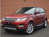 2013 63 Land Rover Range Rover Sport 3.0 SD V6 HSE 4x4 5dr (Red, Diesel)