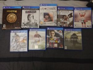 PS4 Games Jeux PS4 Playstation 4