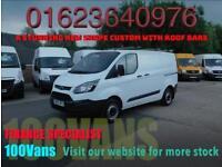 Ford Transit Custom 2.2TDCi 100PS 290 L1H1 SAME DAY FINANCE