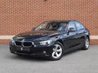2014 14 BMW 3 Series 320d 2.0 EfficientDynamics 4dr (Start/Stop) (Black, Diesel)