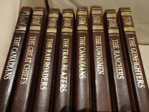 "Time Life Faux Leather Bound ""The Old West Series"" 7 Volumes Kitchener / Waterloo Kitchener Area image 3"