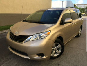 Want to trade 2011 Toyota Sienna for Honda Accord or Lexus ES350