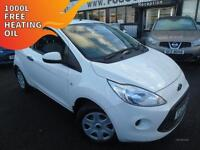 2012 Ford Ka 1.2 Studio - White - Long MOT 2017 + Platinum Warranty!