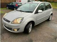 2008 Ford Fiesta 1.4 Zetec 5dr Auto [Climate] HATCHBACK Petrol Automatic