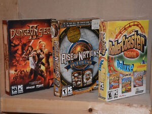 Dungeon Seige II / Rise Of Nations / Rollercoaster Tycoon