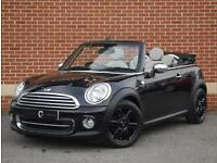 2012 12 Mini Convertible 1.6 Cooper Avenue 2dr (Black, Petrol)