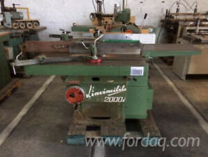 Spindle moulder, circular saw, spindle for drilling and a planer