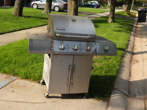 Stainless Steel BBQ for scrap on the curb