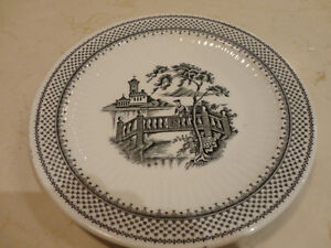 5 Vintage Plates, and a Cup from the 1940's to the 1960's Kitchener / Waterloo Kitchener Area image 4