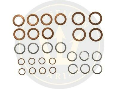 Fuel washer seal kit fuel pipe for Volvo Penta AQD21B MD21B