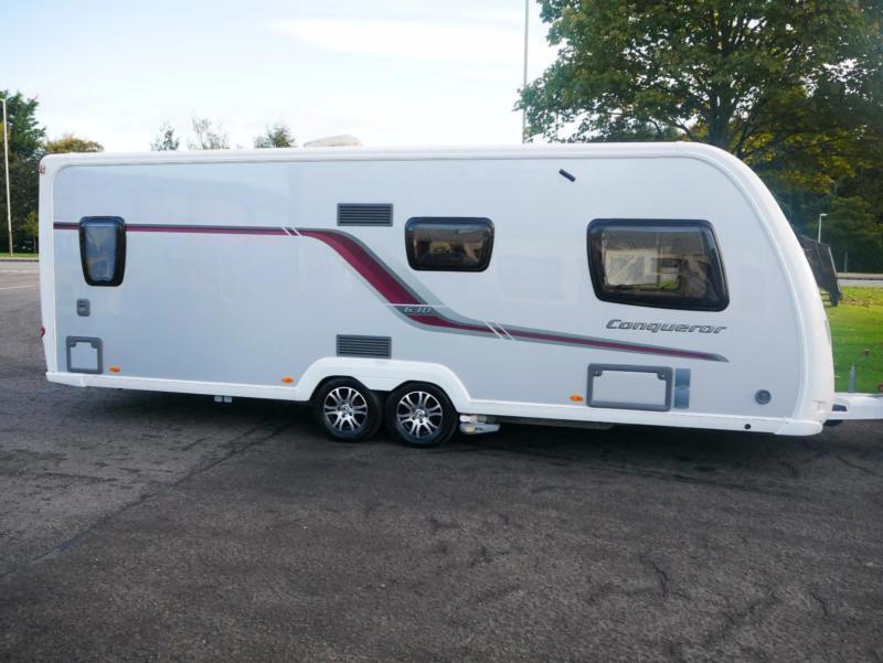 Swift Conqueror 630 4 Berth TAG Axle Caravan