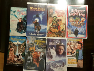 VHS Family home video lot