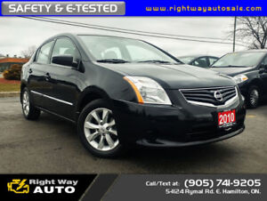 2010 Nissan Sentra 2.0S | LOW KMS | SAFETY & E-TESTED