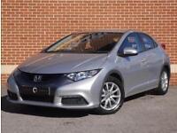 2014 14 Honda Civic 1.8 i-VTEC ES Hatchback (Silver, Petrol)