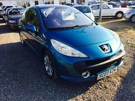 2007 PEUGEOT 207 1.6 HDi 110 Sport DIESEL COUPE