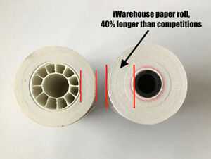 """3-1/8"""" x 220 ft GRADE A Thermal Paper Rolls 50 Count"""