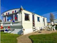 Static caravan includes 2018 site fees on Seawick & St Osyth holiday park