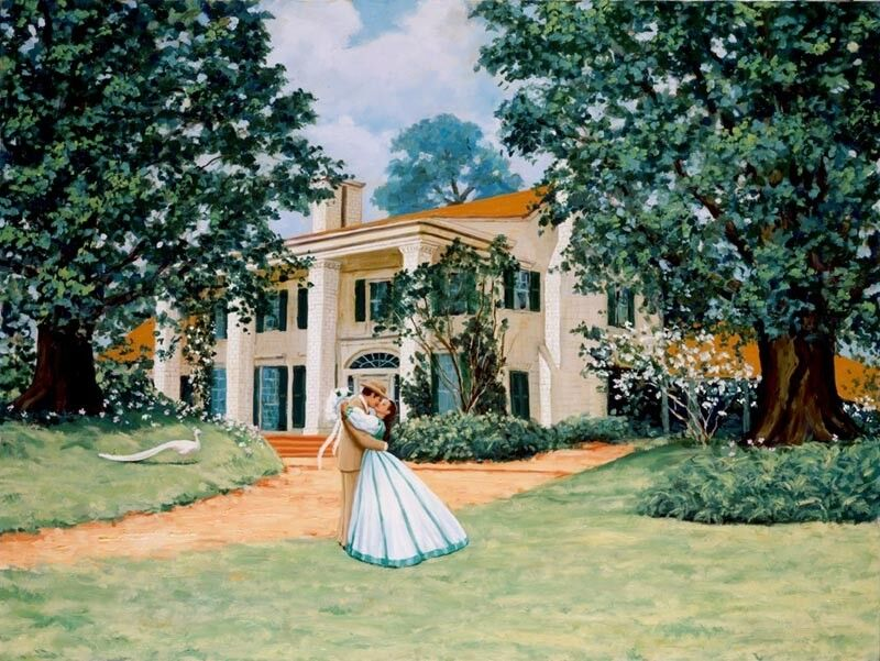 Tara, Gone with the Wind, by Gary George