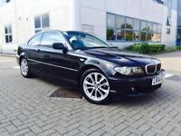 2004 54 Reg BMW 325 Ci SE Coupe + Black + Facelift + Nice spec