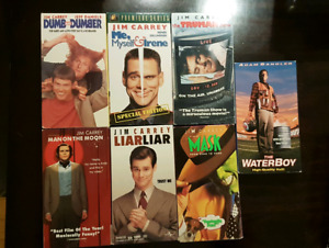 VHS Comedy lot