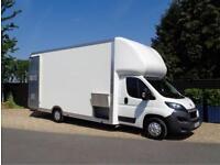 "Peugeot Maxi Mover 5.6m (18ft 4"") BIGMAX WIDE CAVITY BEAD Low Loader Luton Van"