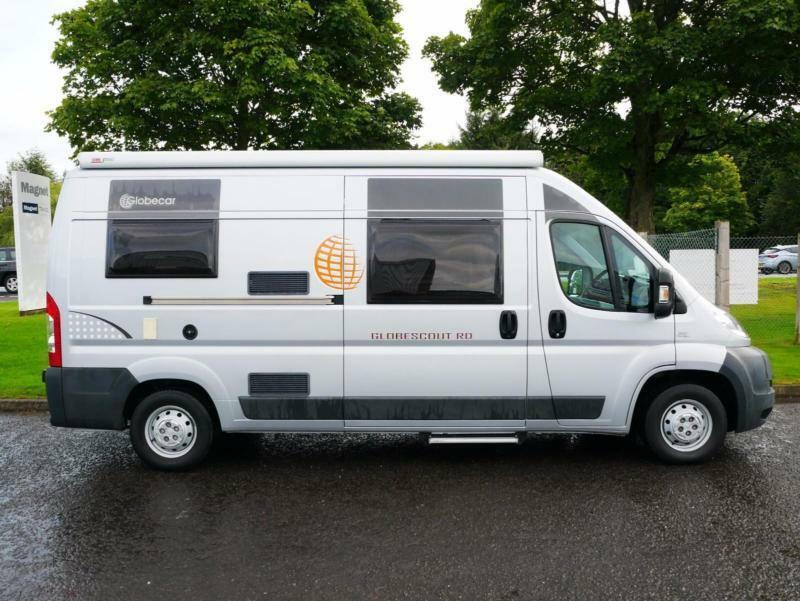 2011 Globecar Globescout 3 Berth Van Conversion
