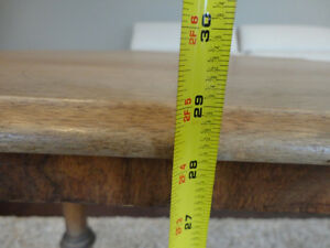 Vintage 1940's Oval Hallway Table in solid decent shape Kitchener / Waterloo Kitchener Area image 7