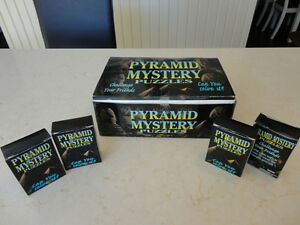 Selling Brand New Solid Wood Pyramid Mystery Puzzles - I have 24 Kitchener / Waterloo Kitchener Area image 1