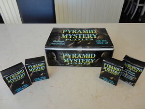 Selling Brand New Solid Wood Pyramid Mystery Puzzles - I have 24
